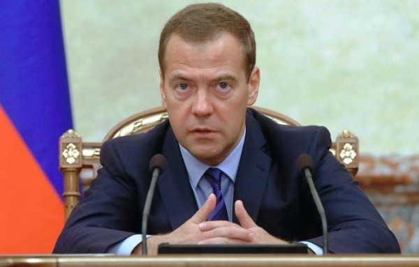 премьер министр РФ Медведев