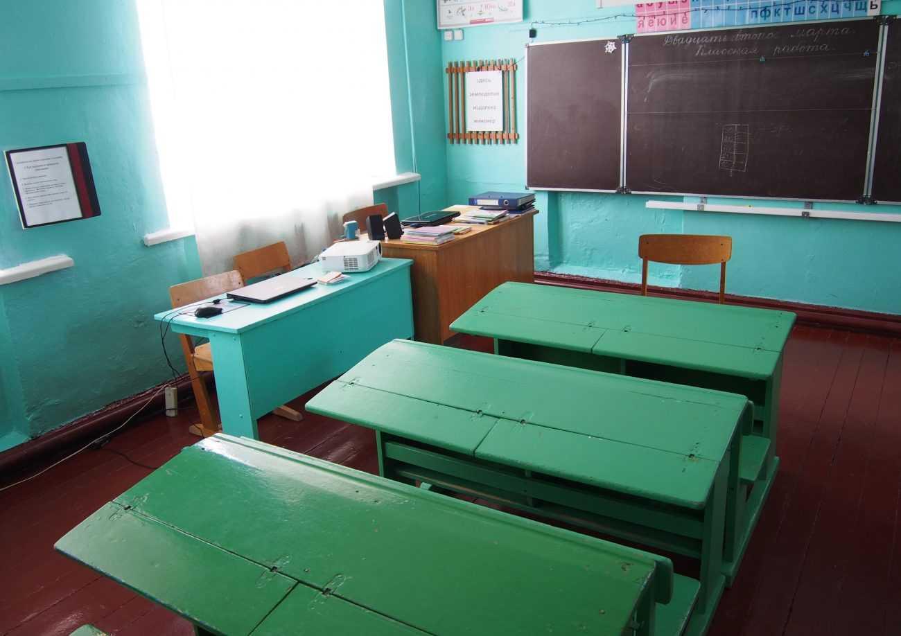 Многие школы устарели морально и физически