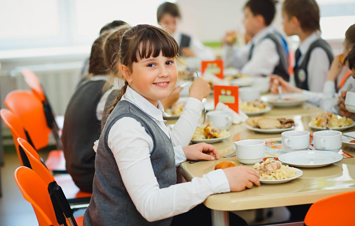 В организации школьного питания сбоев не выявлено